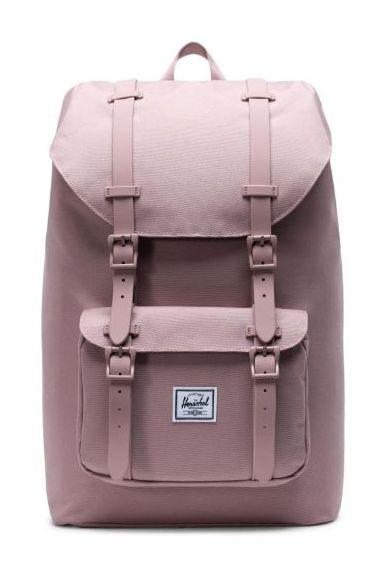 Herschel Backpack LITTLE AMERICA MID-VOLUME Ash Rose