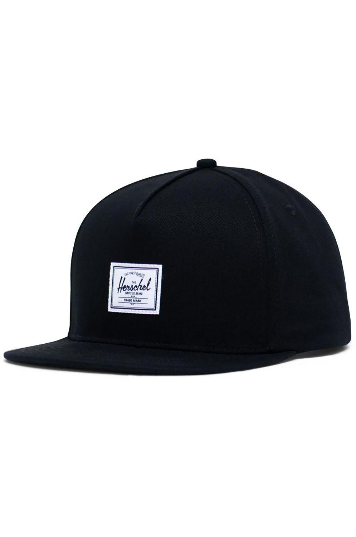 Herschel Cap   WHALER CLASSIC Black