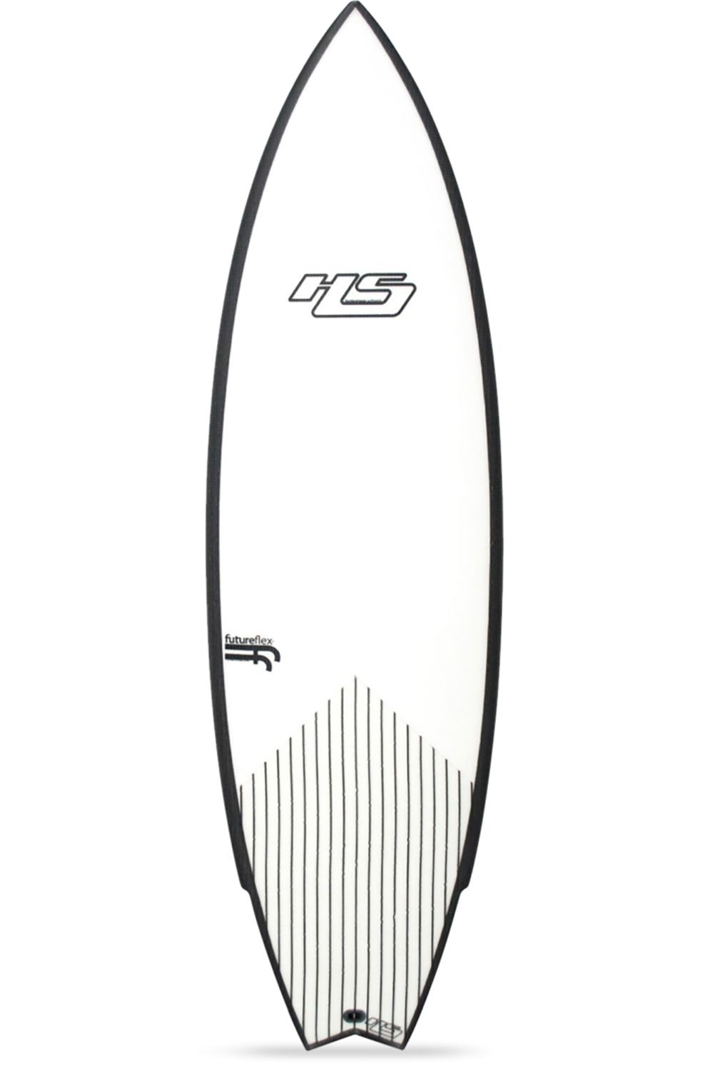 Prancha Surf Hayden Shapes UNTITLED FF CLEAR Swallow Tail - White