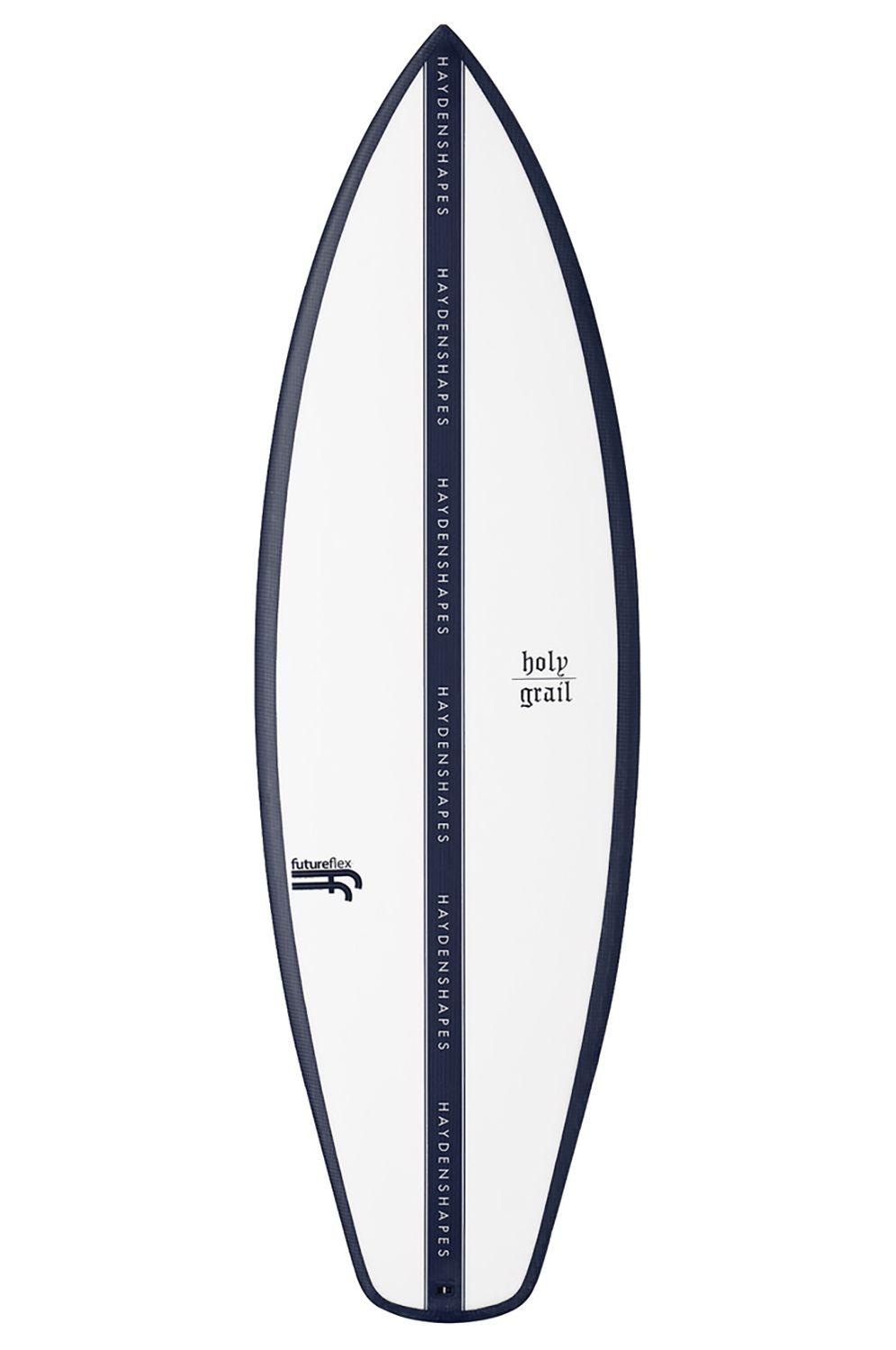 Haydenshapes Surf Board 5'5 HOLY GRAIL FF Squash Tail - Color FCS II Quad 5ft5