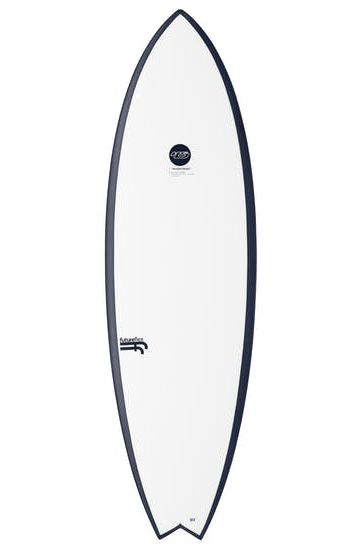 Haydenshapes Surf Board 5'8 HYPTO KRYPTO STEP UP Swallow Tail - White Futures 5ft8