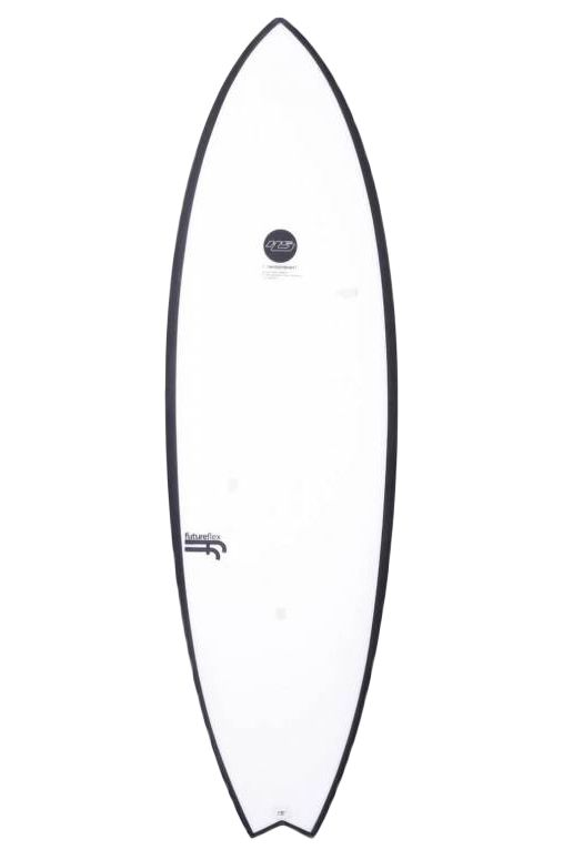 Haydenshapes Surf Board 5'10 HYPTO KRYPTO STEP UP Swallow Tail - White Futures 5ft10