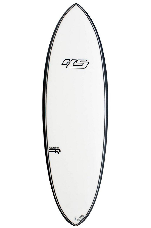 Haydenshapes Surf Board 6'8 HYPTO KRYPTO Round Tail - White FCS II Multisystem 6ft8