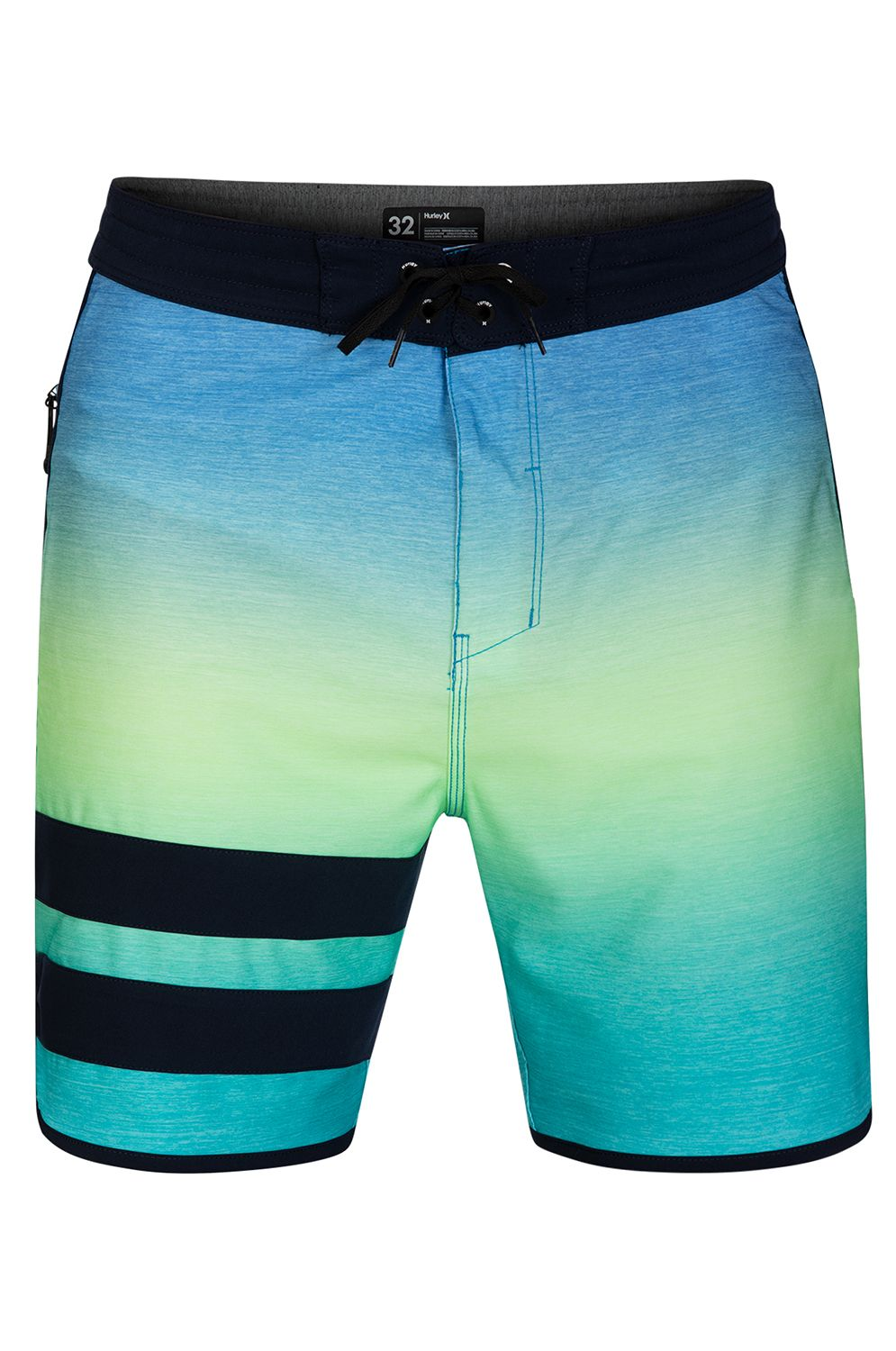 Boardshorts Hurley PHTM BLOCK PARTY KEEP COOL 18' Pacific Blue
