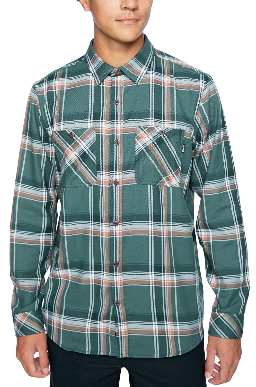 Camisa Hurley M DF HUNTER FLANNEL LS Vintage Green