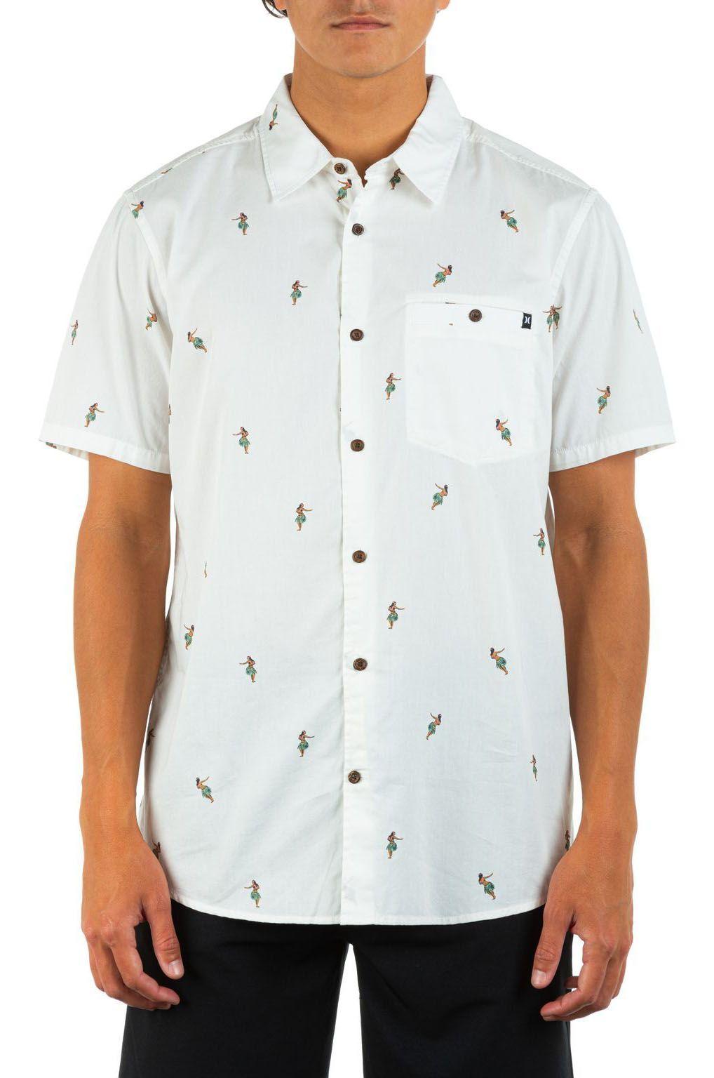 Hurley Shirt MORG WINDANSEA SS White