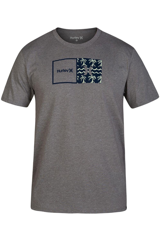 Hurley T-Shirt SIRO NATURAL PRINT Dark Grey Htr