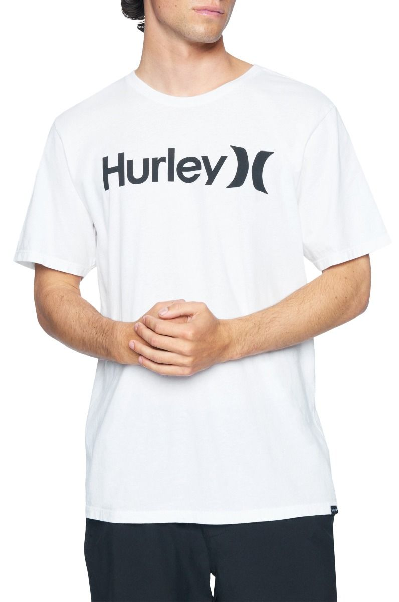 Hurley T-Shirt M EVD WSH OAO SOLID SS White