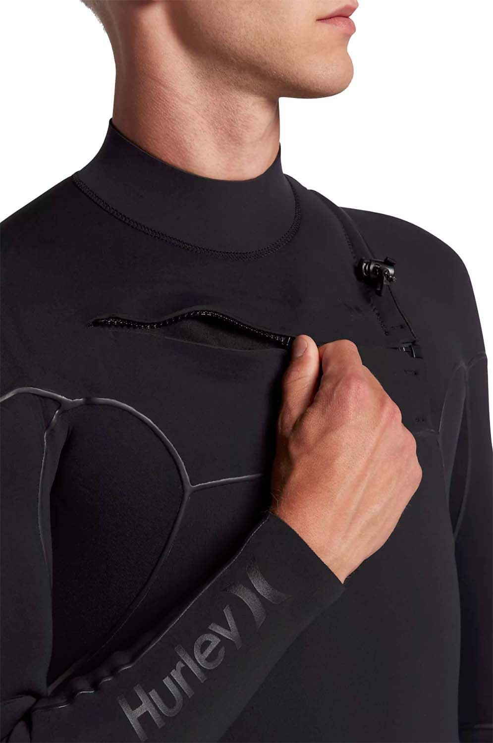 Fato Neoprene Hurley ADVANTAGE MAX 4/3 FULL SUIT Black