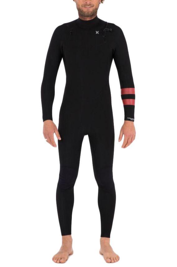 Hurley Wetsuit M ADVANTAGE 4/3MM FULLSUIT Black 4x3mm