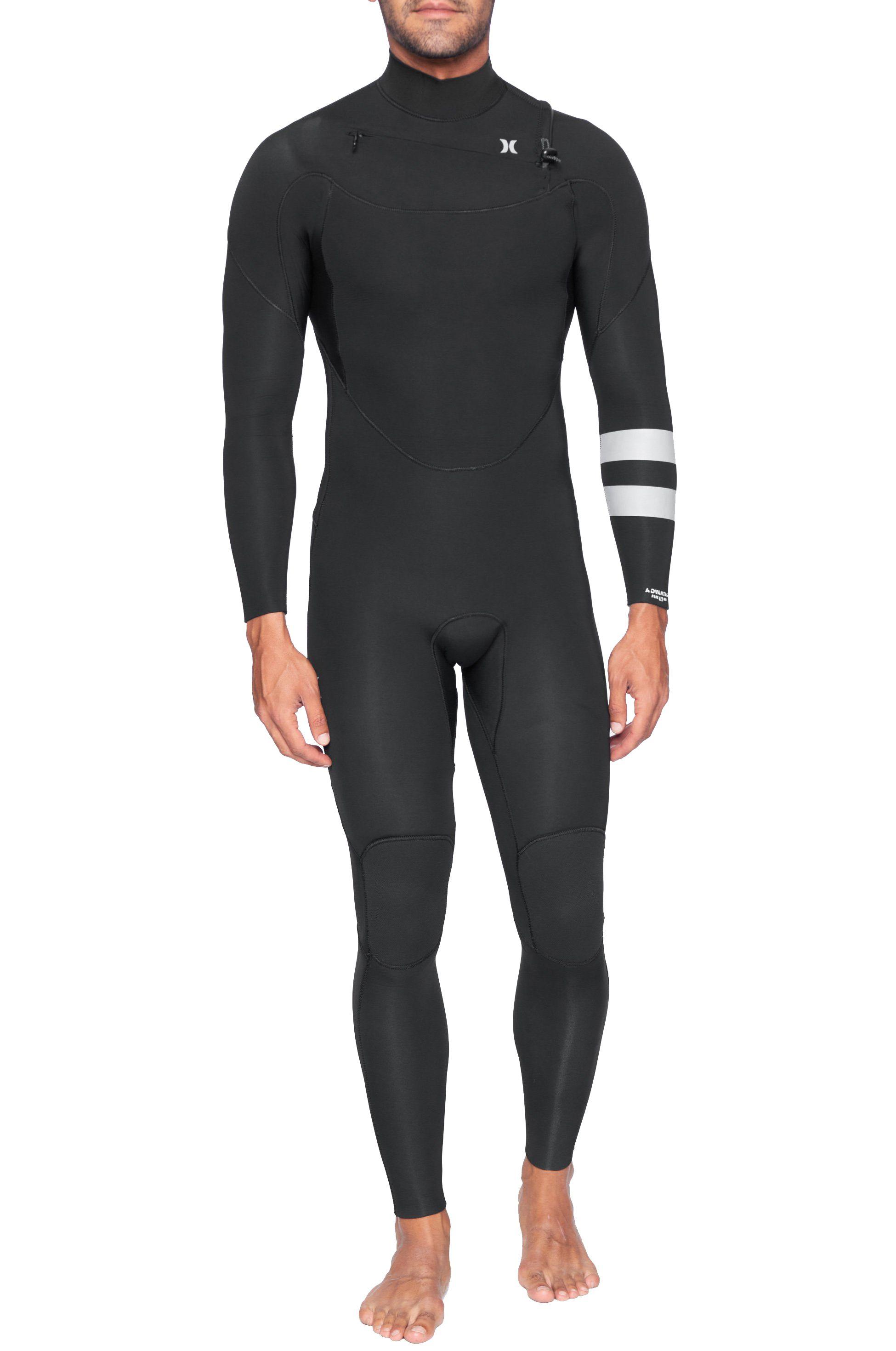 Hurley Wetsuit M ADVANTAGE PLUS 4/3MM FS Black 4x3mm