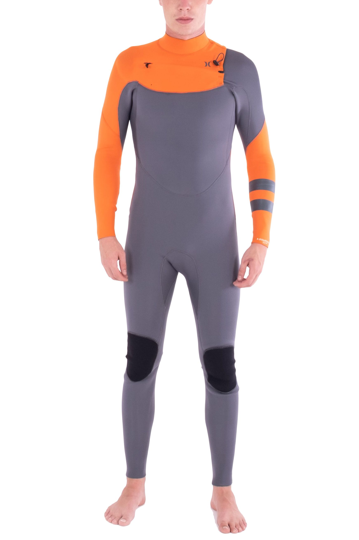 Hurley Wetsuit M ADVANTAGE 4/3MM FULLSUIT Red Orange 4x3mm