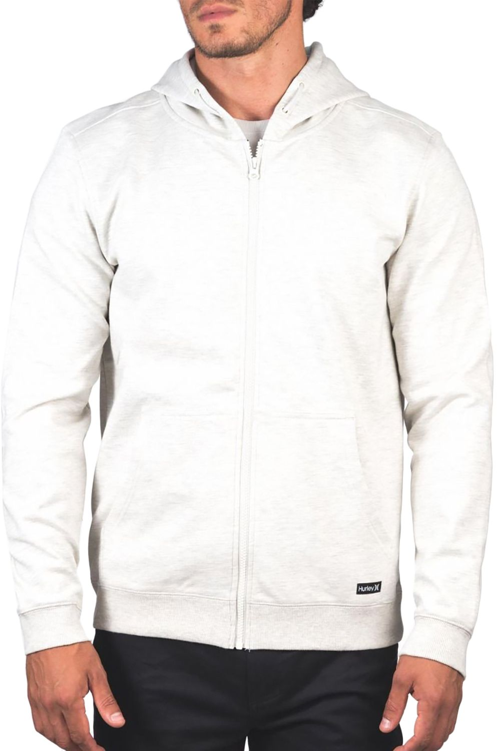 Sweat Fecho Hurley M THERMA PROTECT FZ 2.0 Oatmeal Htr