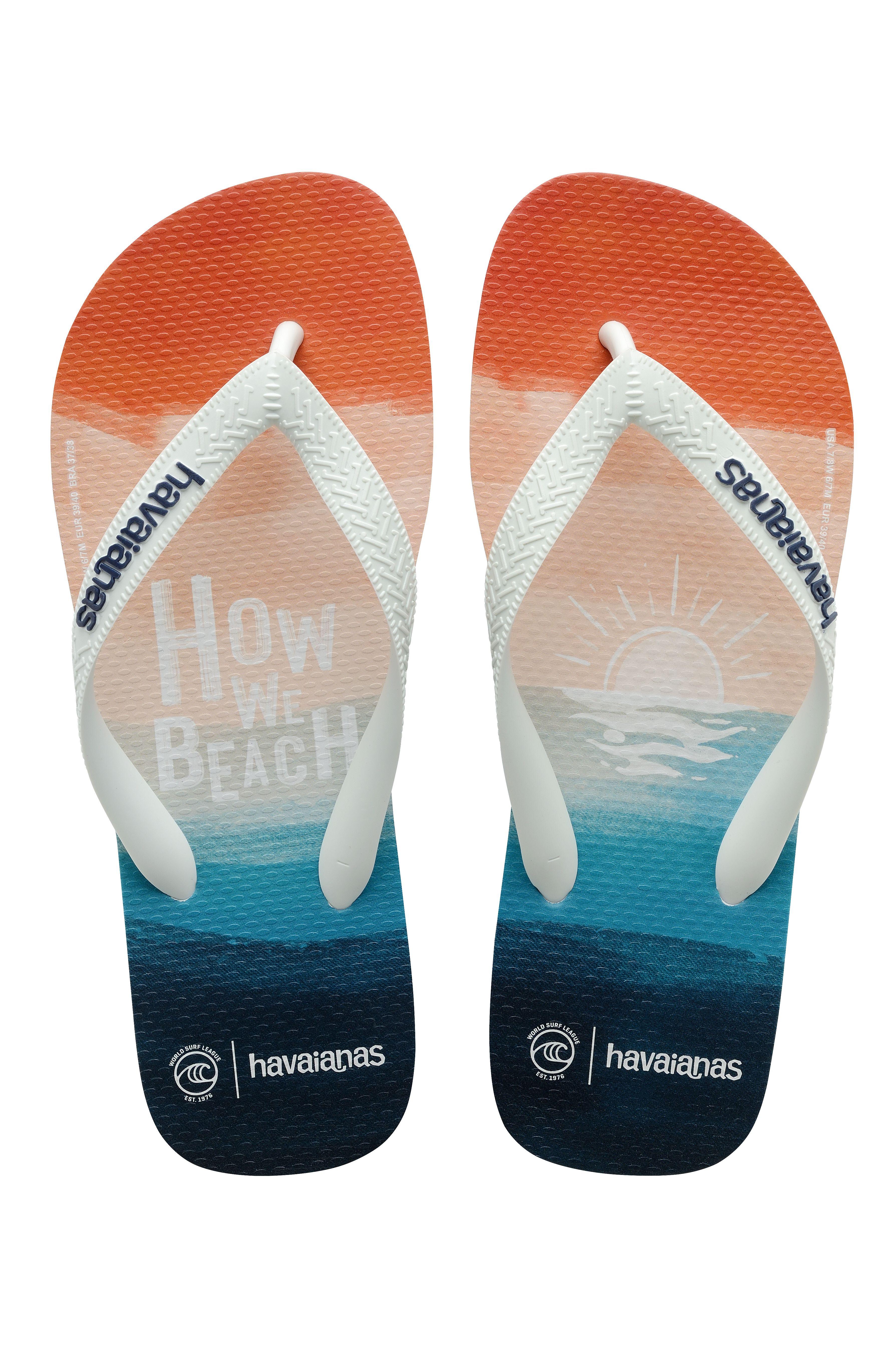 Havaianas Sandals TOP WSL HOW WE BEACH Nautical Blue