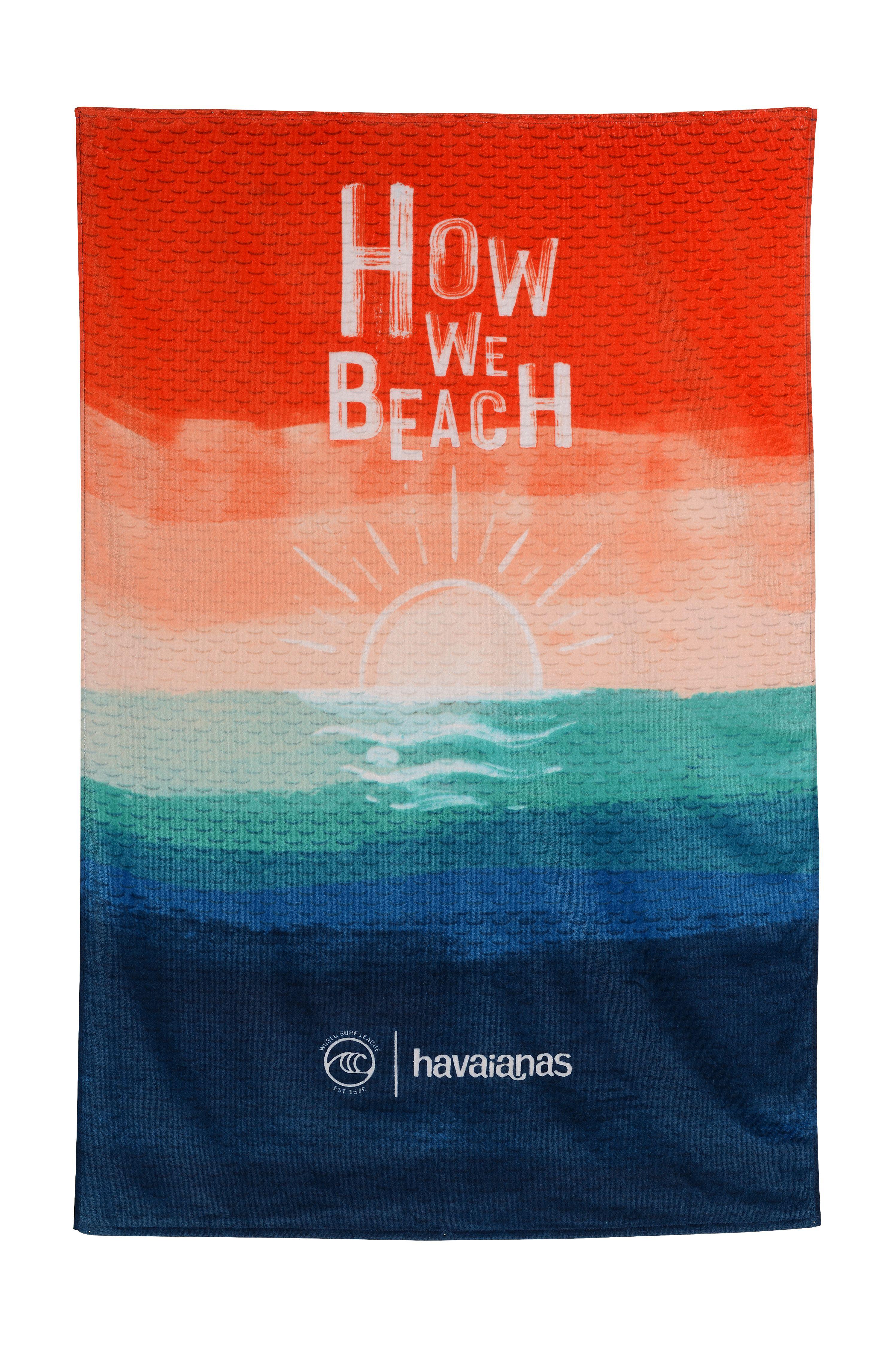 Toalha Havaianas WSL TOWEL Multicolor