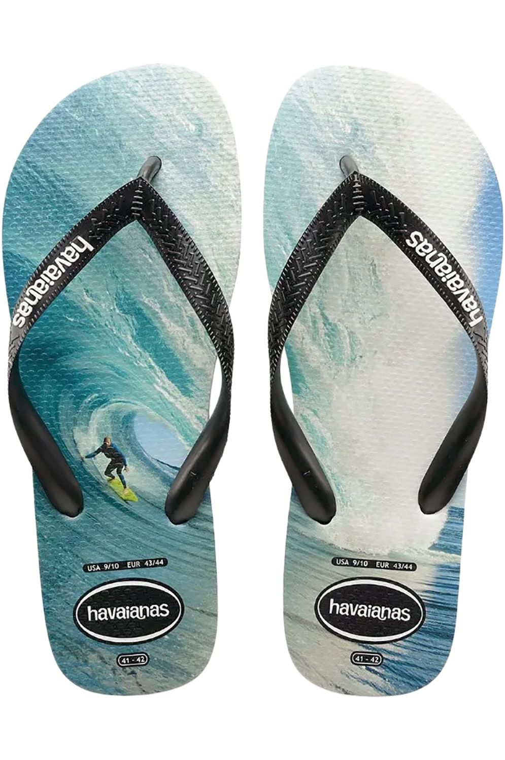Havaianas Sandals TOP PHOTOPRINT Black/Black/Blue