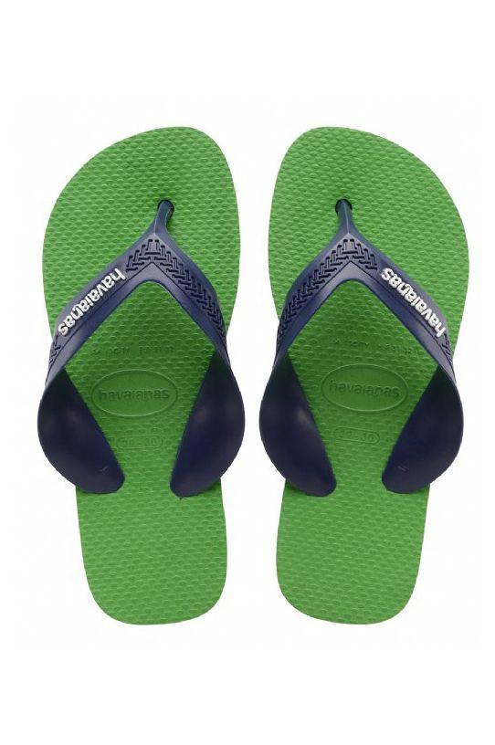 Chinelos Havaianas KIDS MAX Blue Denim/Leaf Green