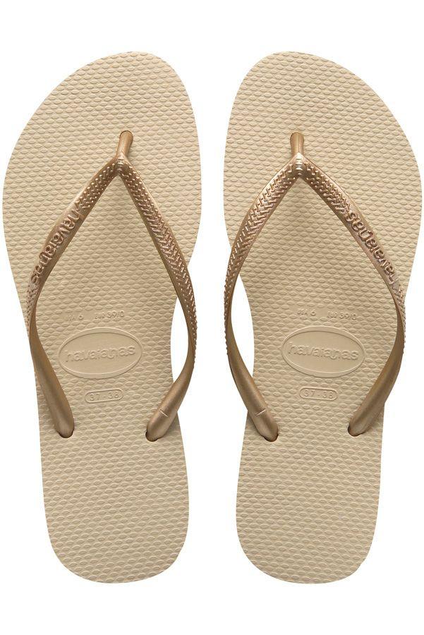 Chinelos Havaianas SLIM Sand Grey/Light Golden