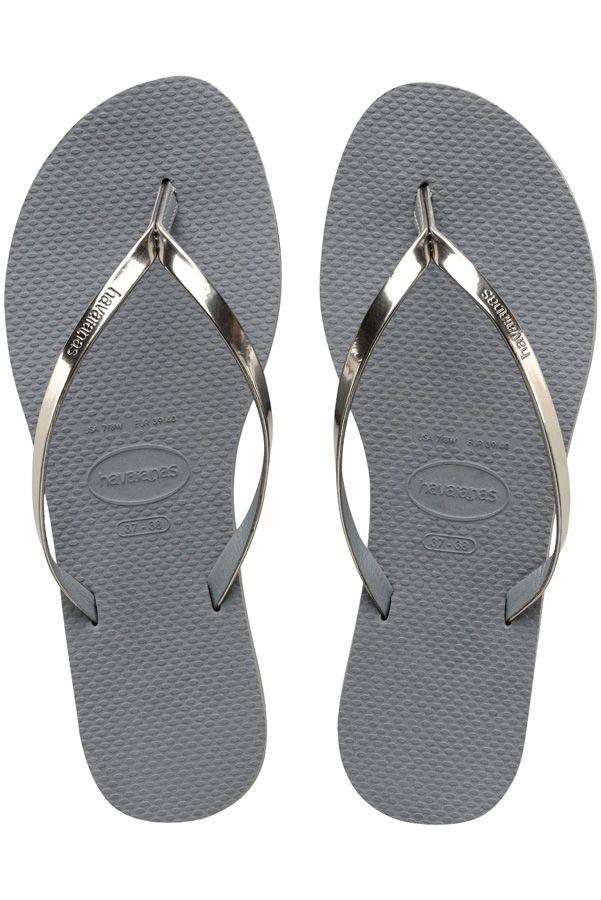 Chinelos Havaianas YOU METALLIC Steel Grey