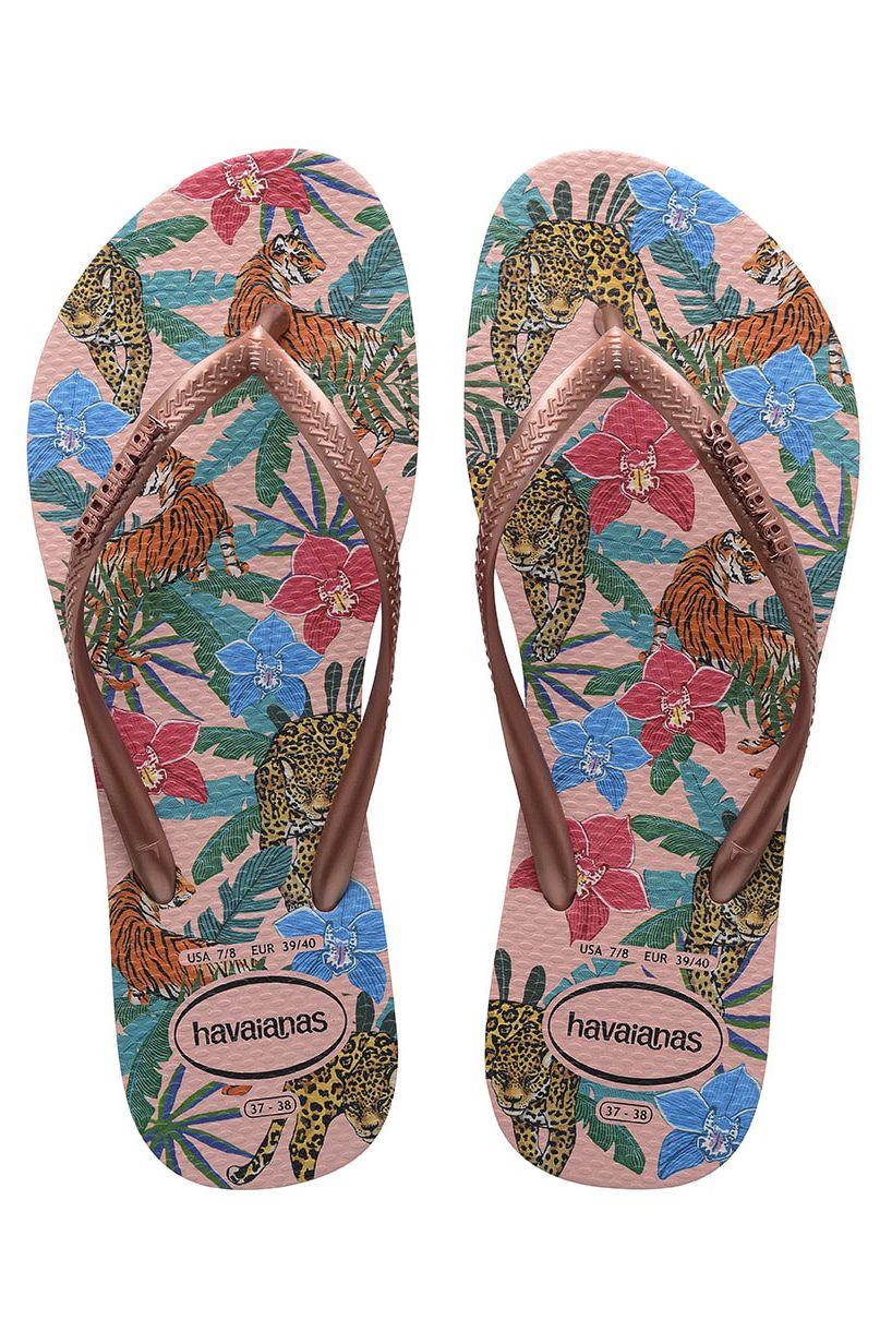 Havaianas Sandals SLIM TROPICAL Ballet Rose/Pink Retro Metallic