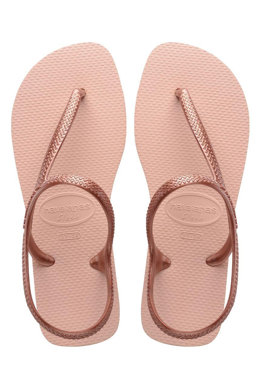 Havaianas Sandals FLASH URBAN Ballet Rose/ Golden Blush