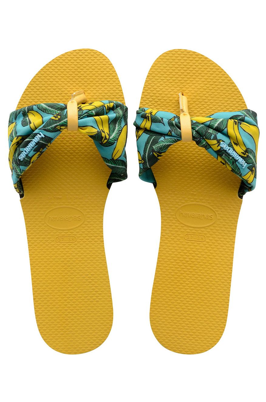 Chinelos Havaianas YOU SAINT TROPEZ Gold Yellow