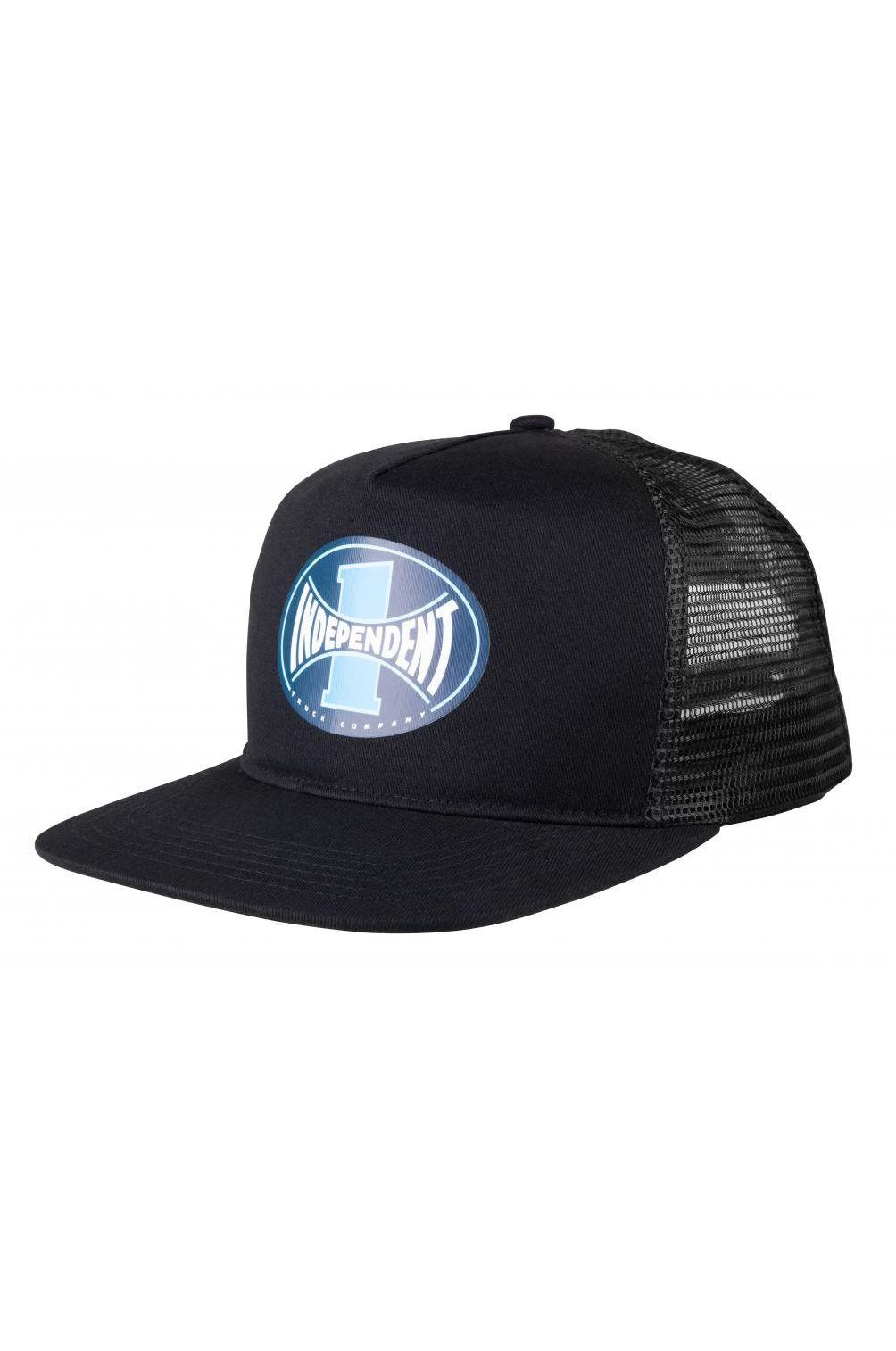 Bone Independent ITC SPAN MESHBACK CAP Black/Black