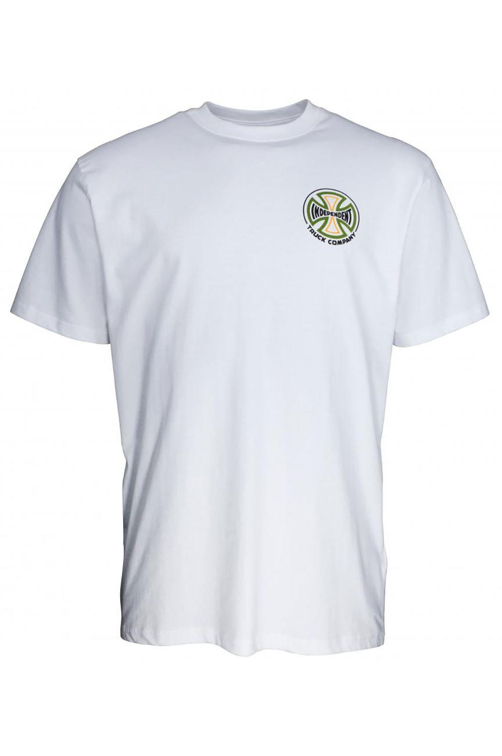 T-Shirt Independent CONVERGE T-SHIRT White