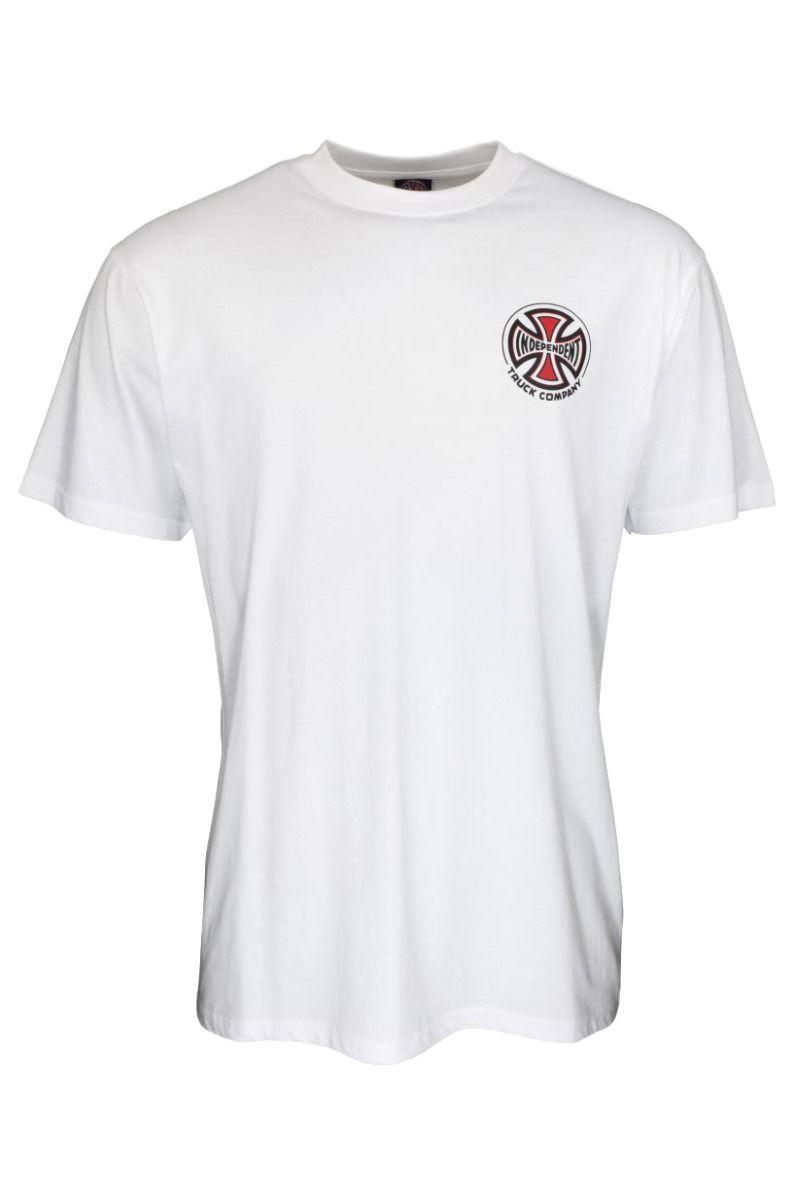 T-Shirt Independent BIG TRUCK CO. T-SHIRT White