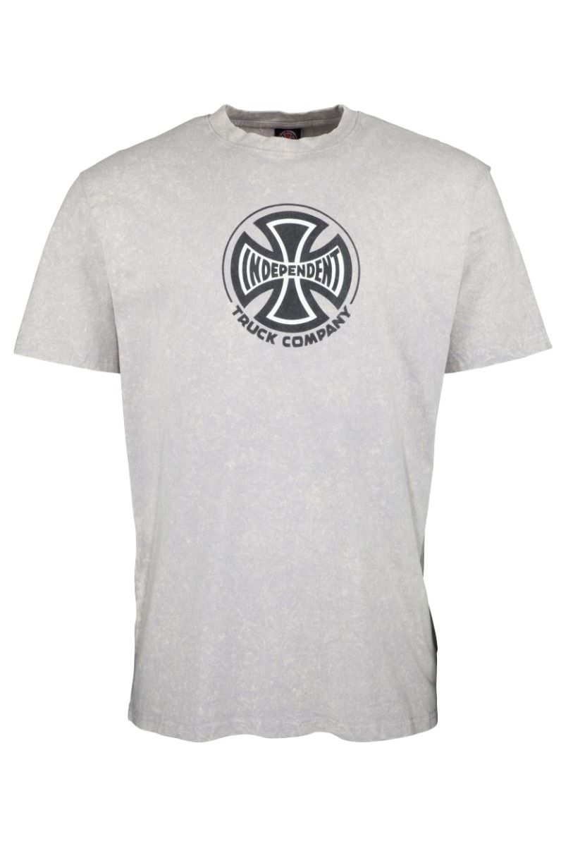T-Shirt Independent TRUCK CO. T-SHIRT Mineral Wash Grey