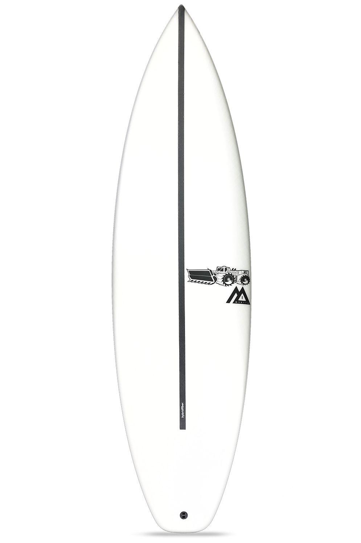 Prancha Surf JS 6'3 MONSTA 8 HYFI Squash Tail - White FCS II 6ft3