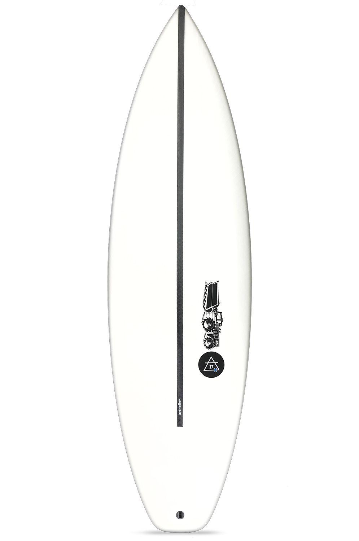 Prancha Surf JS 5'10 JULIAN AIR - 17X HYFI Squash Tail - White FCS II 5ft10