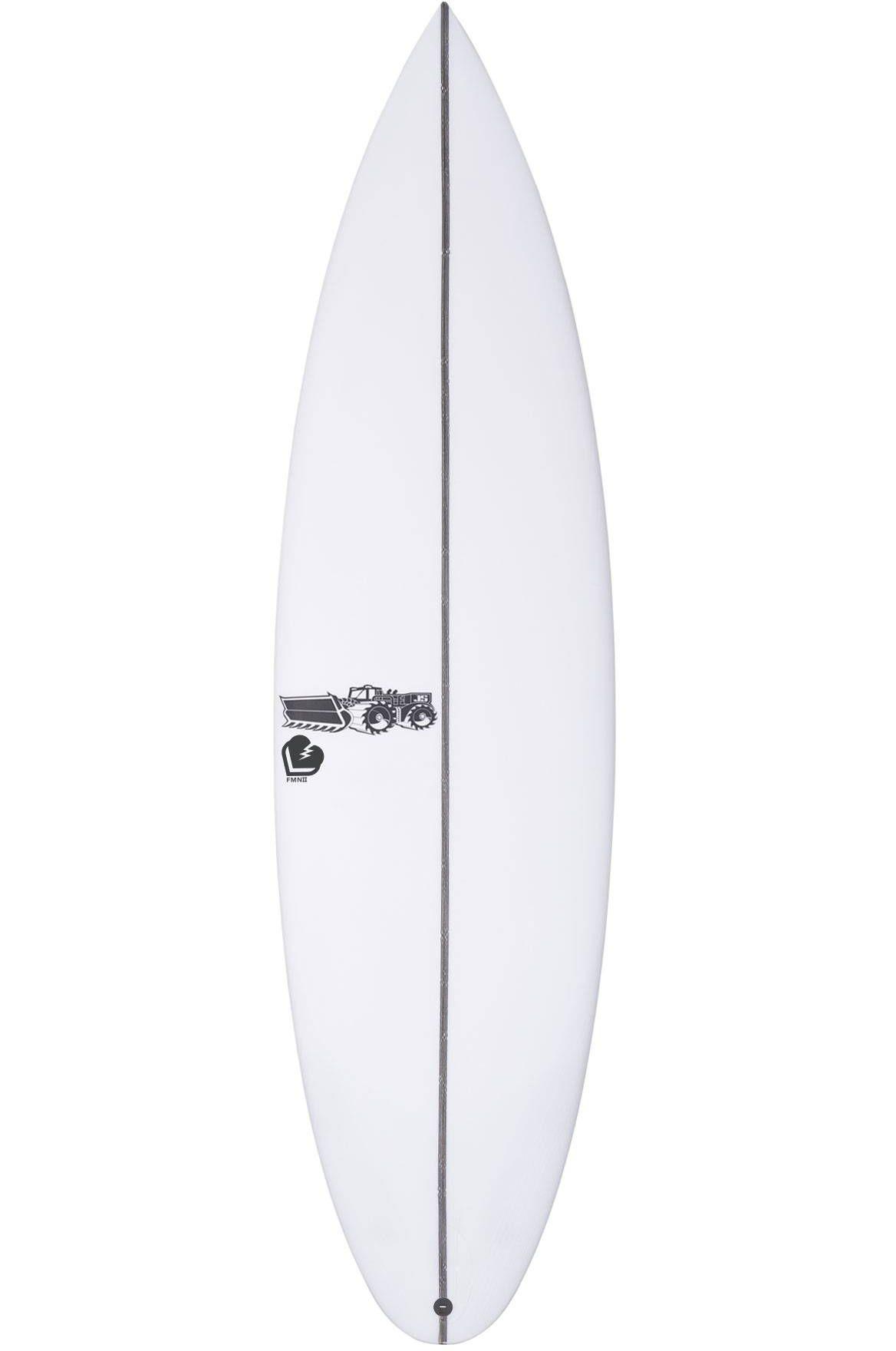 Prancha Surf JS 6'0 FMN 2 Round Pin Tail - White FCS II Multisystem 6ft0