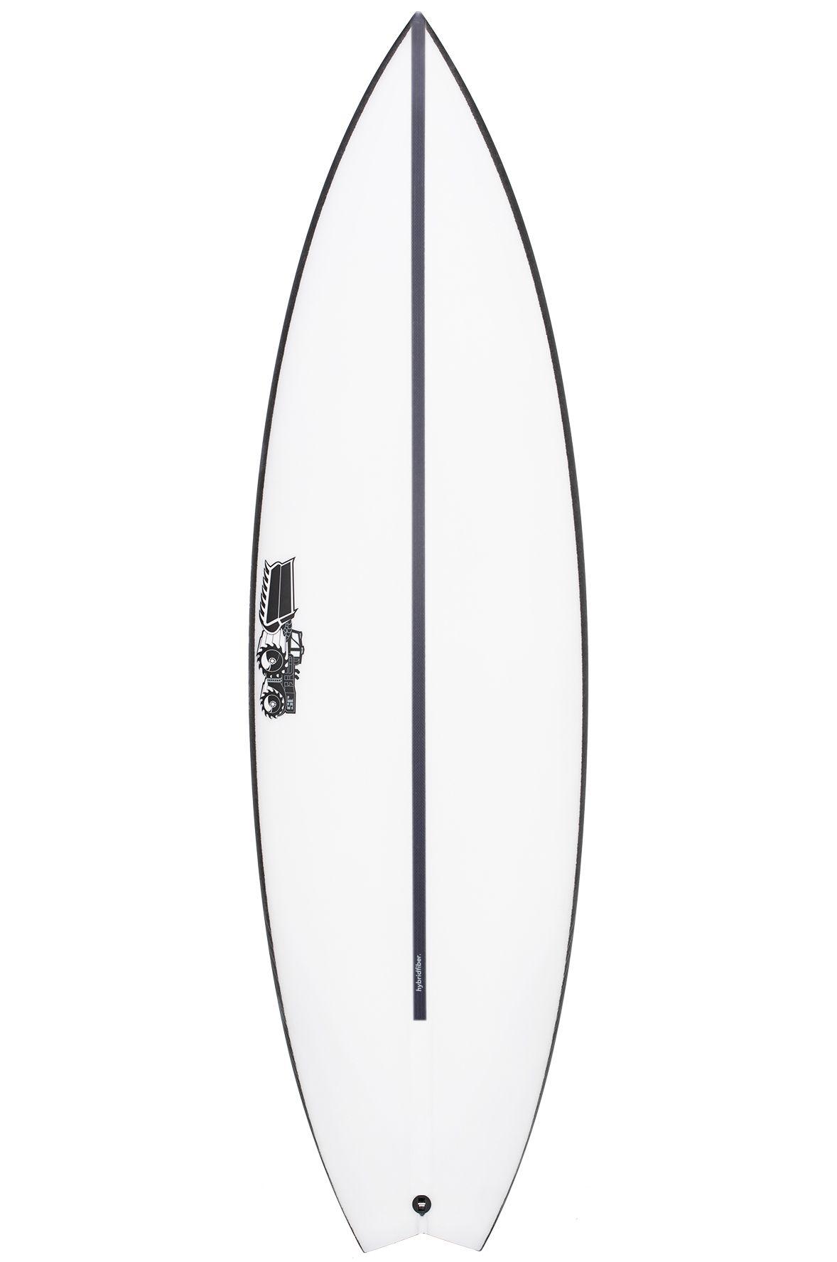Prancha Surf JS 5'7 MONSTA BOX HYFI Swallow Tail - Color FCS II 5ft7
