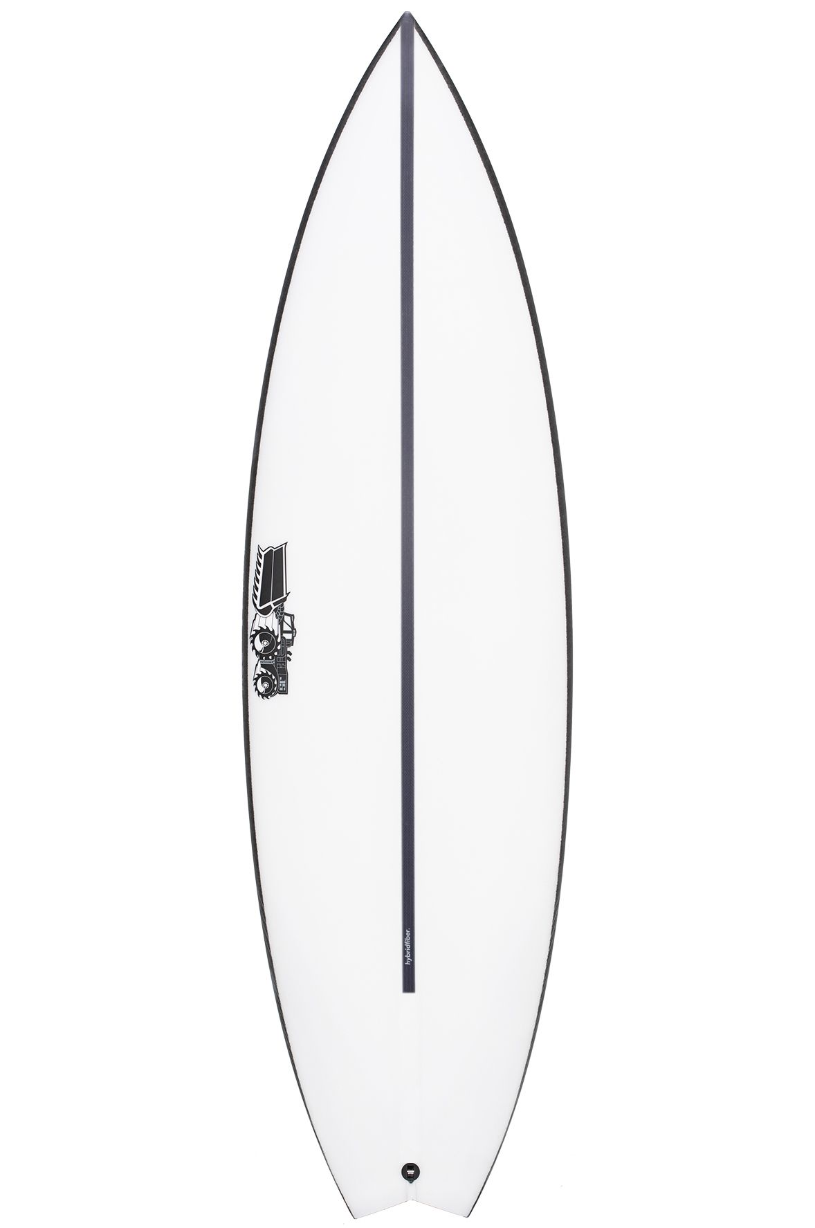 Prancha Surf JS 5'8 MONSTA BOX HYFI Swallow Tail - Color FCS II 5ft8