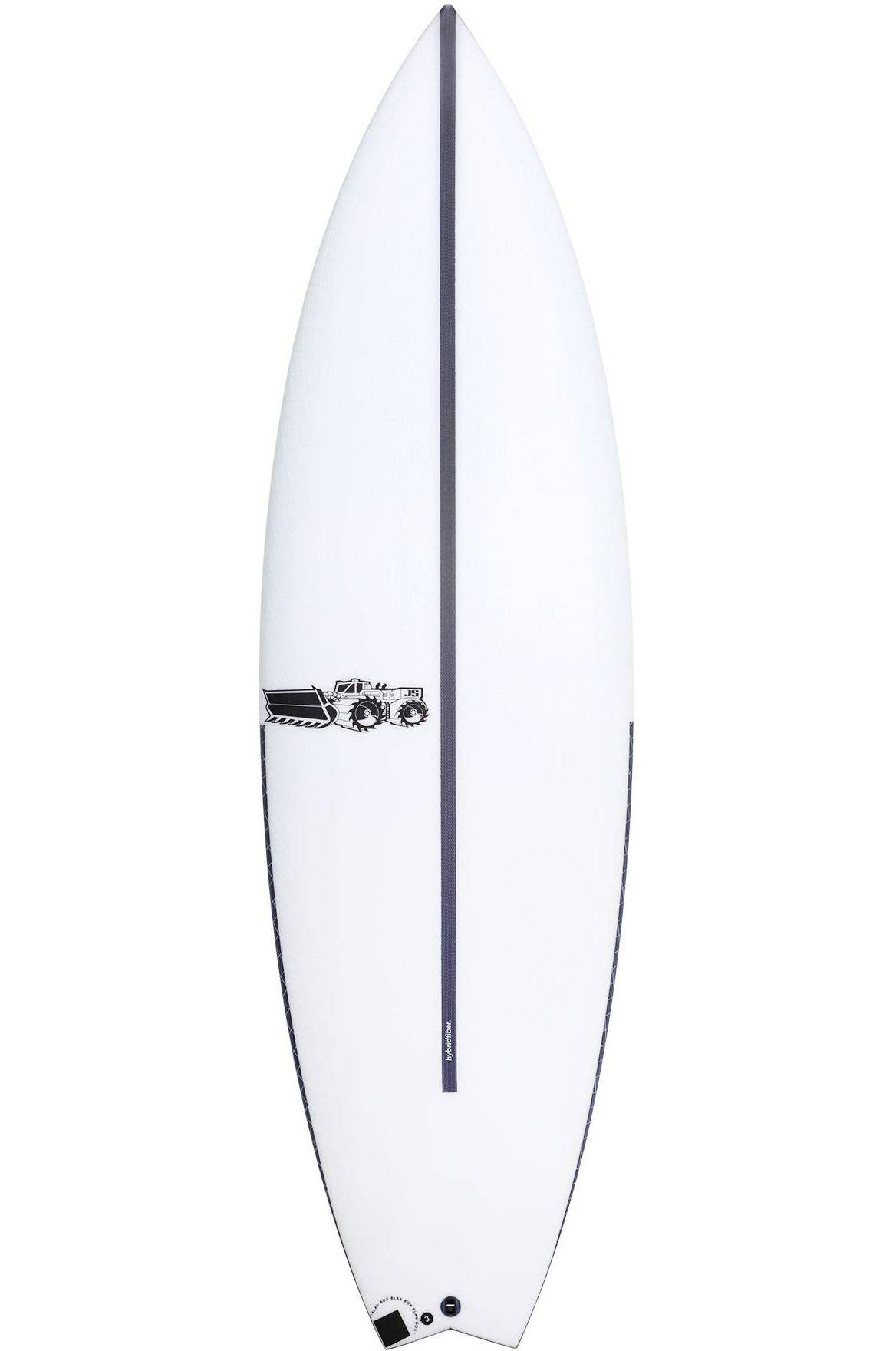 Prancha Surf JS 5'7 BLAK BOX 3 HYFI Swallow Tail - Color FCS II Multisystem 5ft7