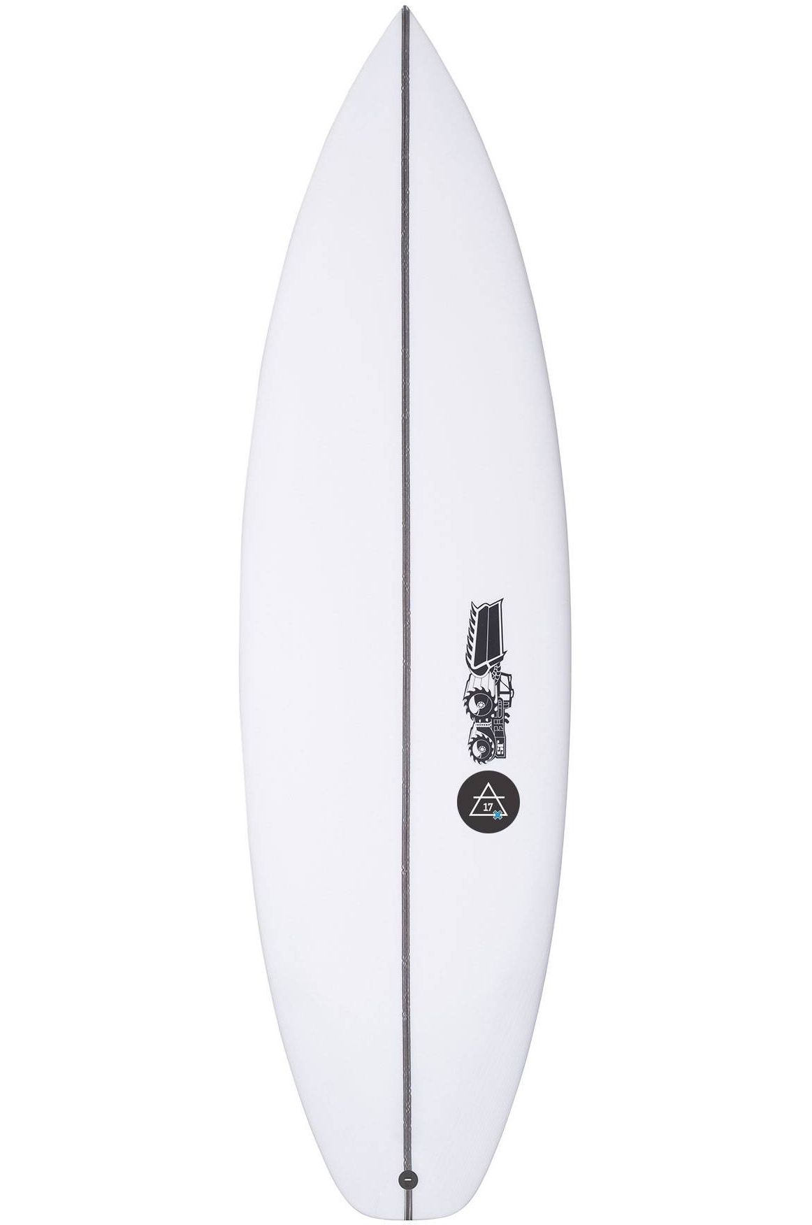 Prancha Surf JS AIR 17- JULIAN WILSON YOUTH Squash Tail - White FCS II 5ft4