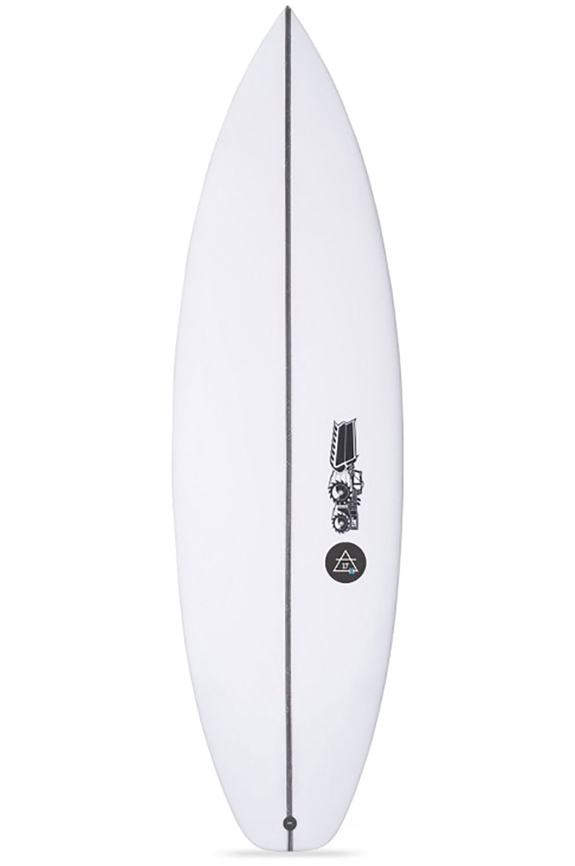 Prancha Surf JS 6'1 JULIAN AIR - 17X Squash Tail - White FCS II 6ft1