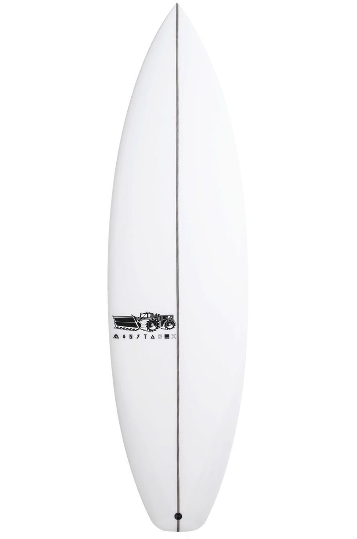 Prancha Surf JS 6'3 MONSTA BOX 2020 X-SERIES Hip Squash Tail - White FCS II 6ft3