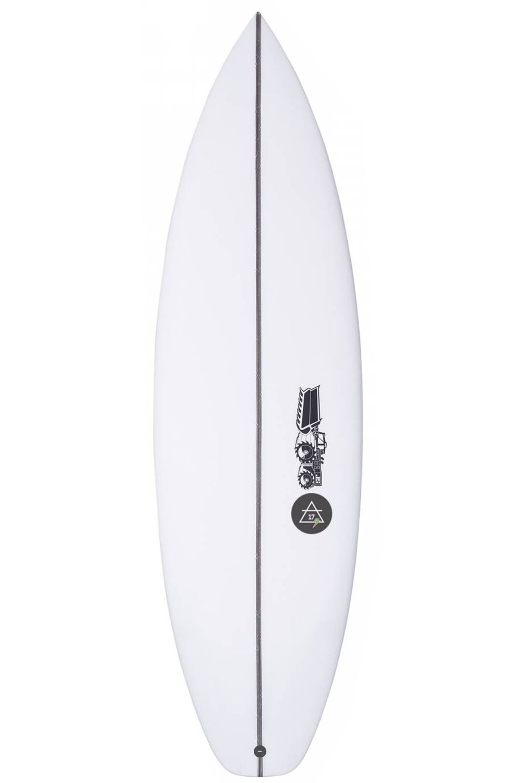 Prancha Surf JS 5'10 AIR 17 PERFORMER Hip Squash Tail - White FCS II 5ft10