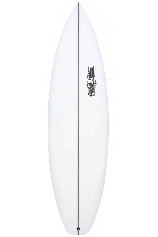 Prancha Surf JS 6'3 MONSTA 2020 PERFORMER Hip Squash Tail - White FCS II 6ft3