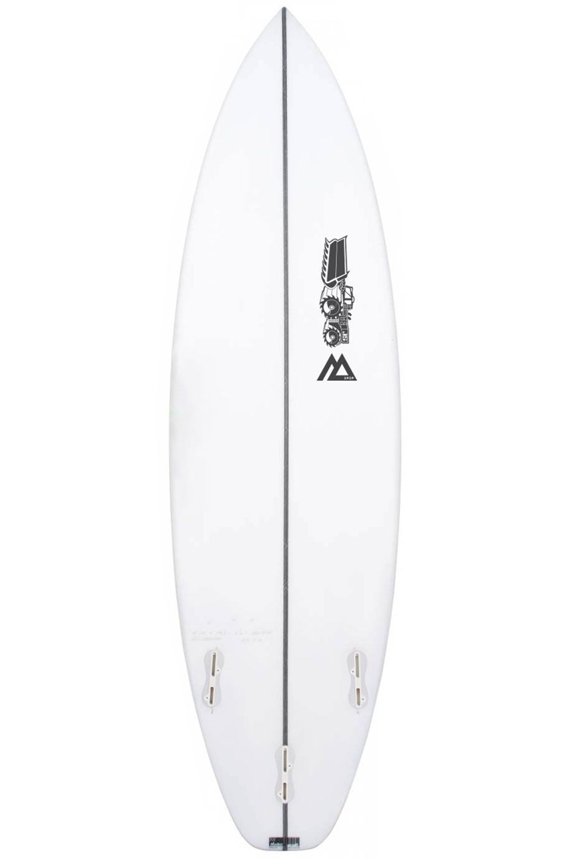 Prancha Surf JS MONSTA 2020 EZI RIDER PERFORMER 5'11 Hip Squash Tail - White FCS II 5ft11