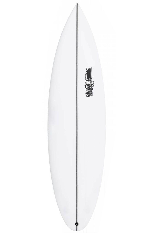 Prancha Surf JS 6'2 MONSTA 2020 PERFORMER Round Pin Tail - White FCS II Multisystem 6ft2