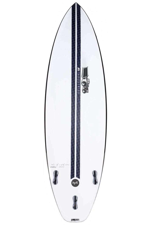 Prancha Surf JS MONSTA BOX 2020 HYFI 6'0 Hip Squash Tail - White FCS II 6ft0
