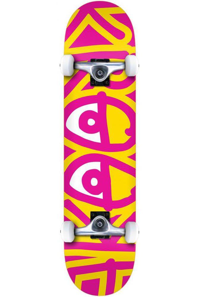 "Street Skate Krooked 8"" BIG EYES TWO Multi"
