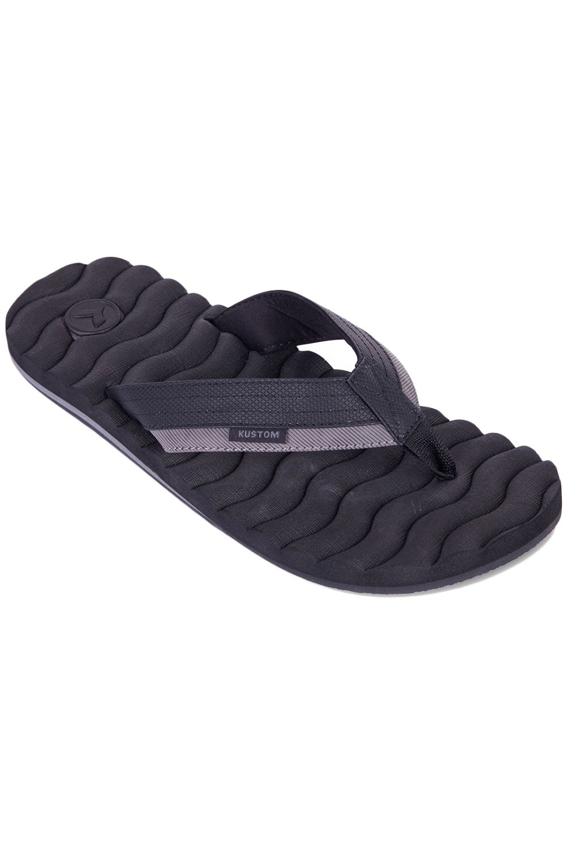 Kustom Sandals HUMMER III Black Stripe