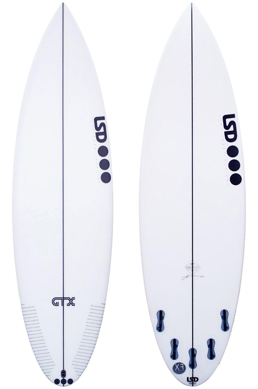 Prancha Surf Lsd GTX Round Tail - White FCS II Multisystem 6ft0