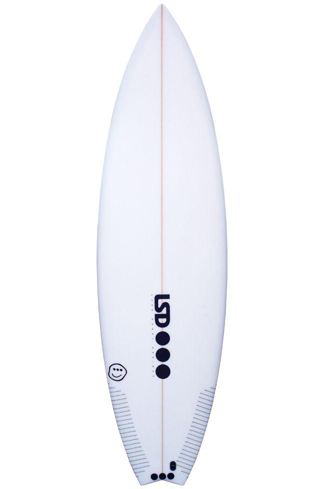 Prancha Surf Lsd NOA Swallow Tail - White FCS II 6ft0