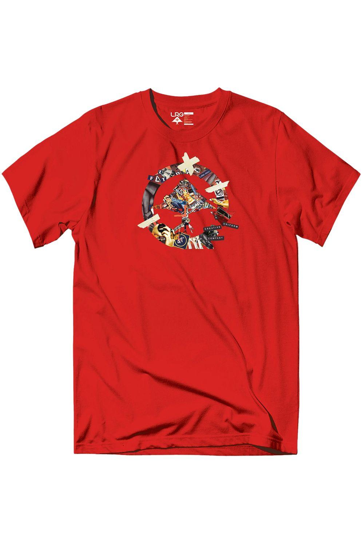 T-Shirt LRG DIY CYCLE Red