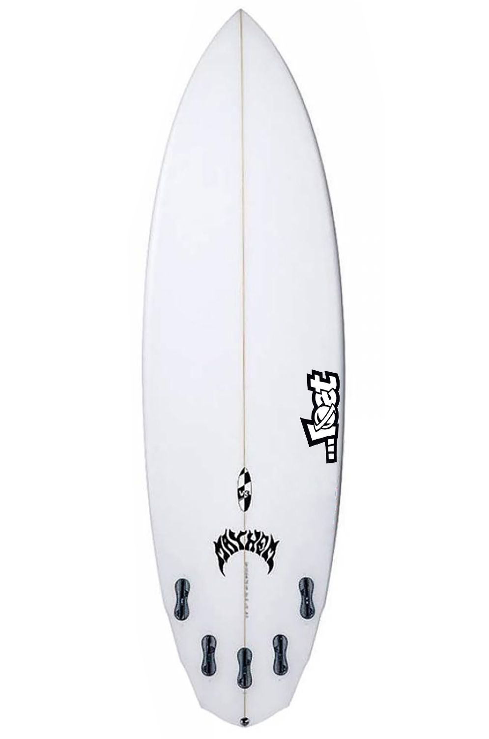 Prancha Surf Lost V3 ROCKET 5'8 Diamond Tail - White FCS II Multisystem 5ft8